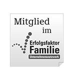 Arbeitgeberauszeichnung Erfolgsfaktor Familie